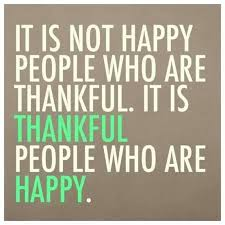 Some straightforward truth about gratitude.