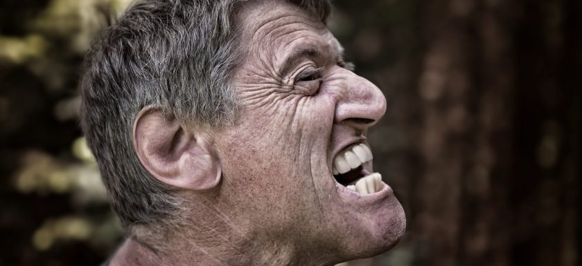 Jaw pain often makes people angry!